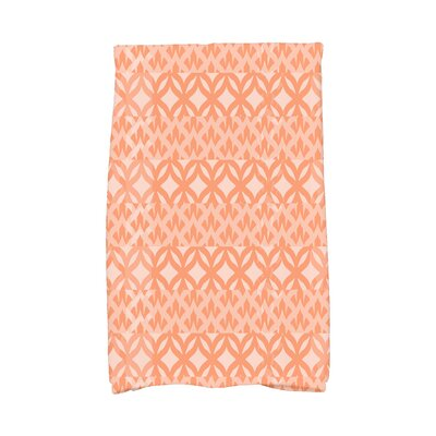 London Hand Towel Color: Orange