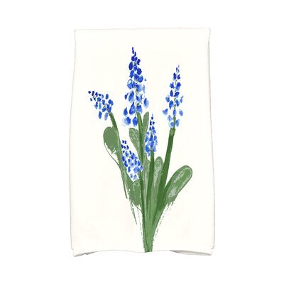 Monroe Hand Towel Color: Blue
