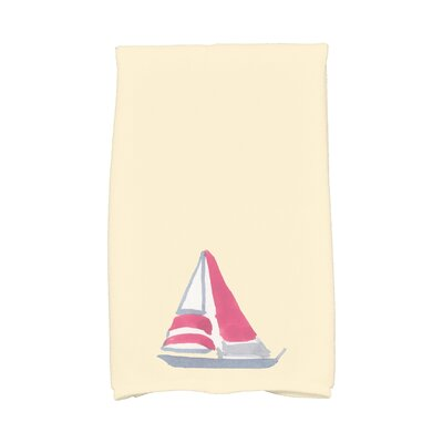 London Hand Towel Color: Yellow