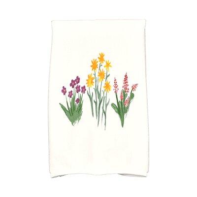 Monroe Flower Trio Hand Towel Color: Light Purple