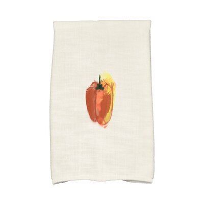 Monroe Pepper Hand Towel Color: Rust