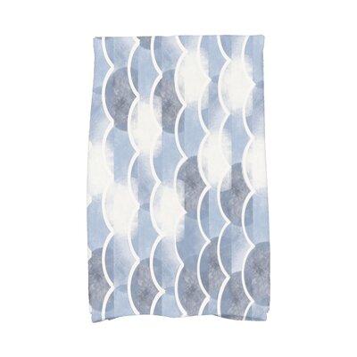 London Hand Towel Color: Blue