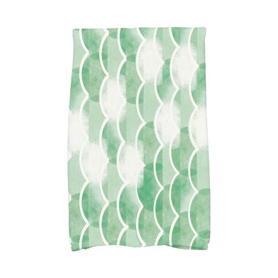 London Hand Towel Color: Green