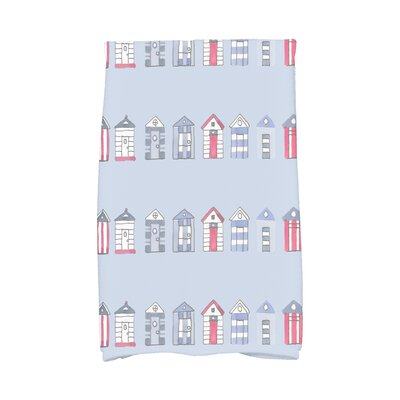 London Hand Towel Color: Blue