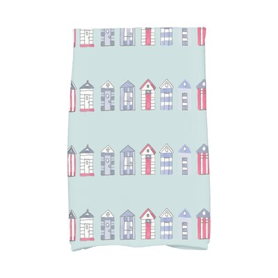 London Hand Towel Color: Aqua