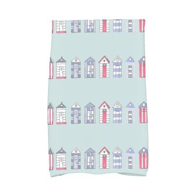 London Hand Towel Color: Aqua