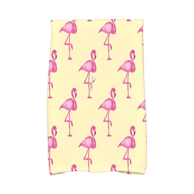 Sailer Hand Towel Color: Yellow