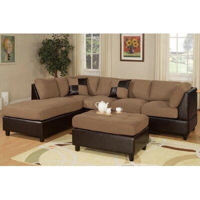 Hiett 3 Piece Living Room Set Upholstery: Beige