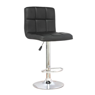 Herrin Adjustable Height Swivel Bar Stool