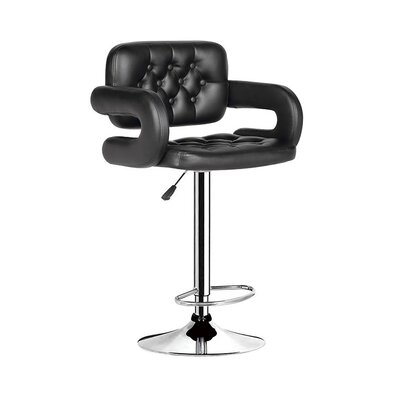 Herrman Adjustable Height Swivel Bar Stool