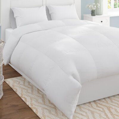 Microfiber Shell Reversible All Season Down Alternative Comforter Size: King/California King