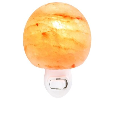 Mushroom Head Himalayan Night Light