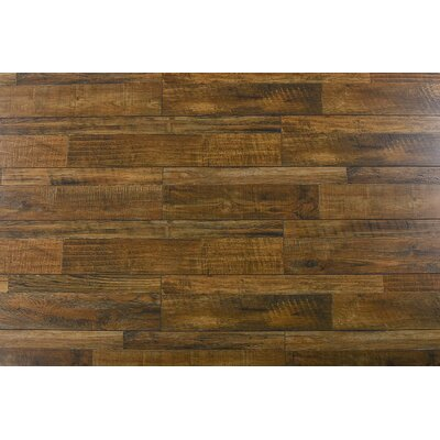 Steve 7.6 x 48 x 12mm Oak Laminate Flooring in Rustic Comodo