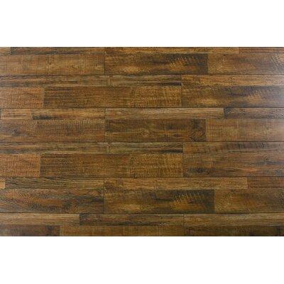 Palapa 7.6 x 48 x 12mm Oak Laminate Flooring in Rustic Comodo