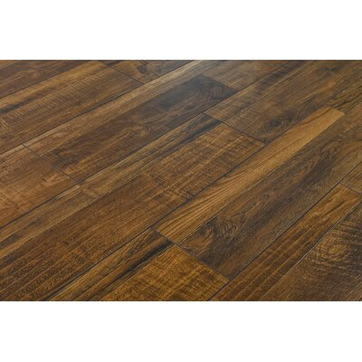 Palapa 7.6 x 48 x 12mm Oak Laminate Flooring in Rustic Java Ruby