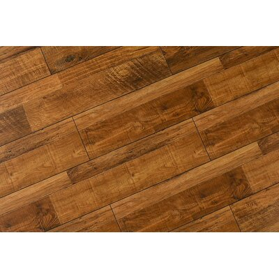 Steve 8 x 48 x 12mm Oak Laminate Flooring in Rustic Sierra