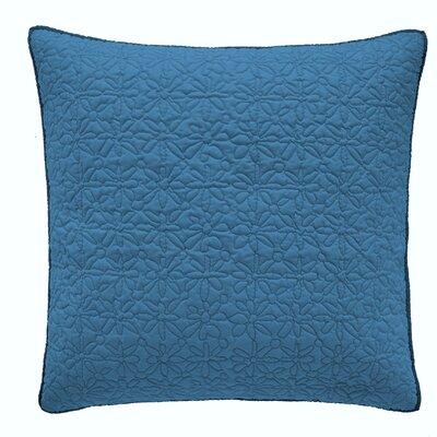 Fern 100% Cotton Pillow Sham Color: Teal