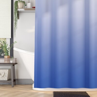 Inspired Mysterious Ocean Design Shower Curtain Size: 69 W x 75 L