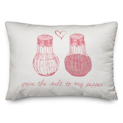 Speier Salt to My Pepper Lumbar Pillow