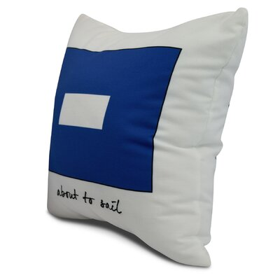 Harriet Phrase Throw Pillow Size: 16 x 16