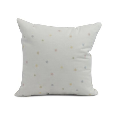 Carmanor Dots Pillow Color: Pale Pink, Size: 18