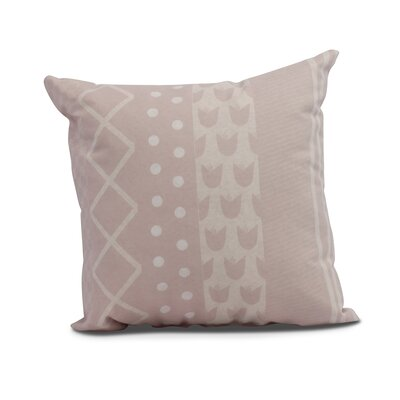 Castleman Decorative Throw Pillow Color: Pale Pink, Size: 20 x 20