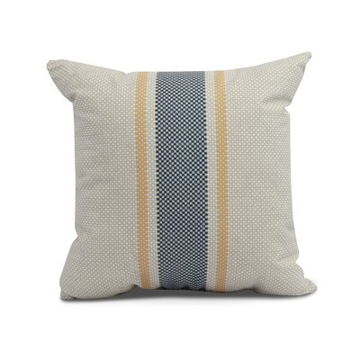 Laymon Grain Sack Throw Pillow Color: Yellow, Size: 20 x 20