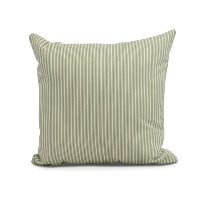 Chavira Decorative Throw Pillow Color: Green, Size: 26 x 26