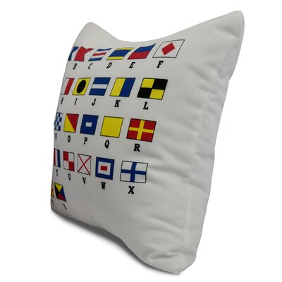 Harriet Multi Letters Throw Pillow Size: 20 x 20