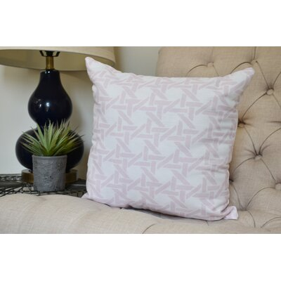 Carmack Throw Pillow Color: Pale Pink, Size: 26