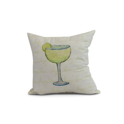 Carmack Throw Pillow Color: Light Green, Size: 16 x 16