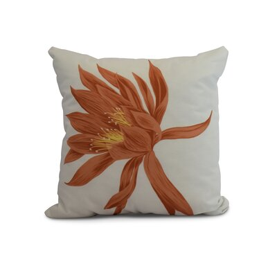 Memmott Throw Pillow Color: Orange, Size: 26 x 26