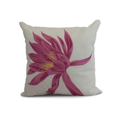 Memmott Throw Pillow Color: Pink, Size: 20 x 20