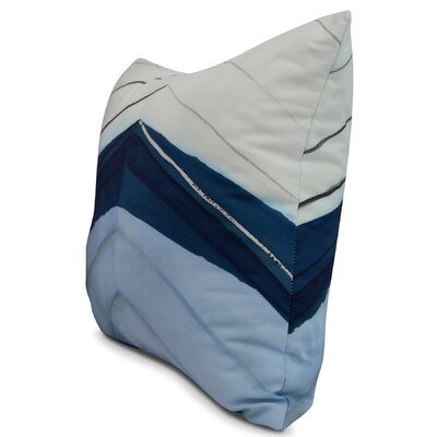 Harriet Boat Bow Print Throw Pillow Color: Blue, Size: 16 x 16