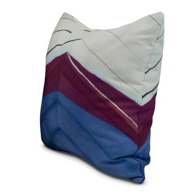 Harriet Boat Bow Print Throw Pillow Color: Royal Blue, Size: 16 x 16