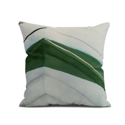 Harriet Boat Throw Pillow Color: Green, Size: 26 x 26