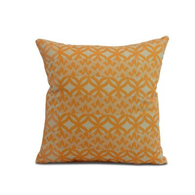 Carmean Throw Pillow Color: Yellow, Size: 20 x 20
