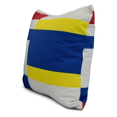 Harriet Multi Abstract Throw Pillow Size: 20 x 20