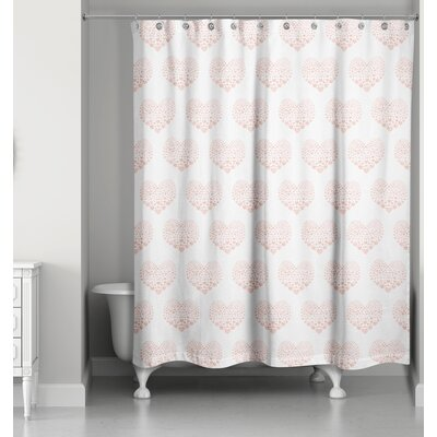 Ferrier Heart Shower Curtain