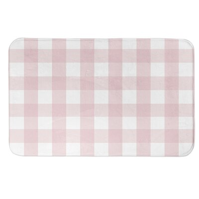 Fernandes Buffalo Check Bath Rug