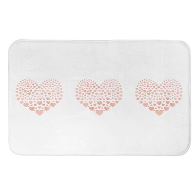 Ferrier Heart Bath Rug