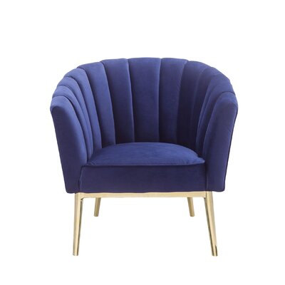 Kester Armchair Upholstery: Blue