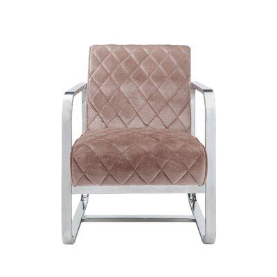 Hartzell Armchair Upholstery: Pink