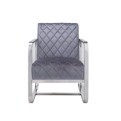 Hartzell Armchair Upholstery: Gray