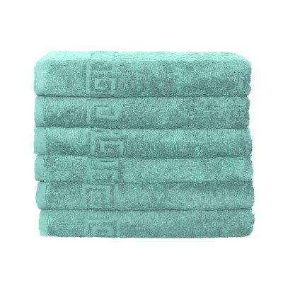 12 Piece Bath and Hand Towel Set Color: Turquoise