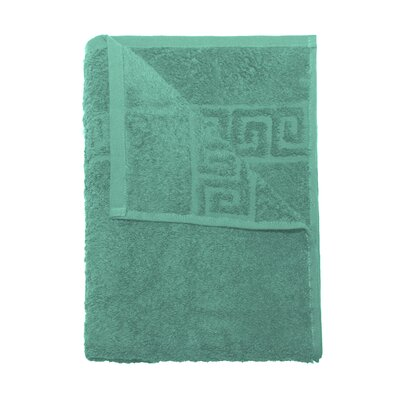 24 Piece Bath and Hand Towel Set Color: Turquoise