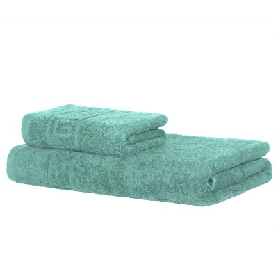 4 Piece Bath Towel Set Color: Turquoise