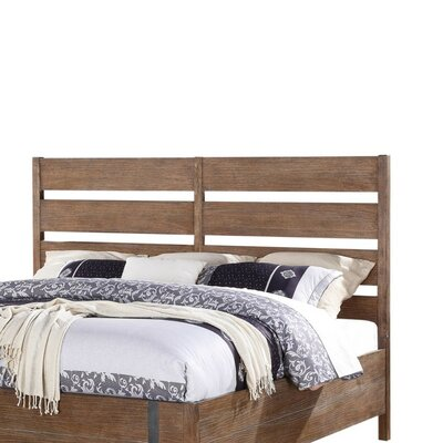 Muniz Slat Headboard Size: King