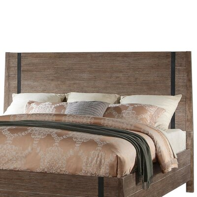Muniz Panel Headboard Size: King