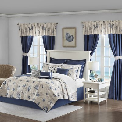 Broxton 24 Piece Coverlet In a Bag 7F63F095D9CF46F6BE257BA5E0408922